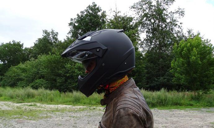 le casque Dexter Ladak de profil