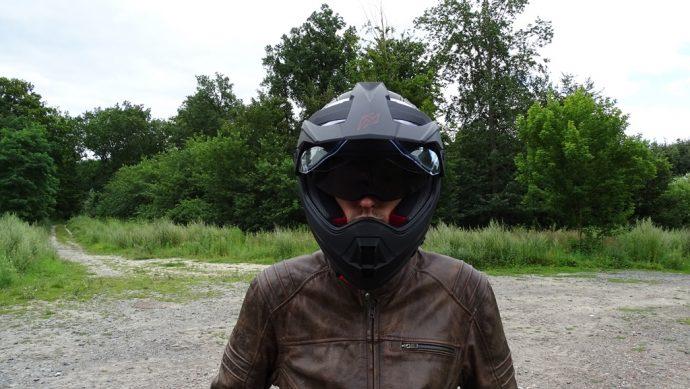 essai du casque Dexter Ladak dans sa version noir mat