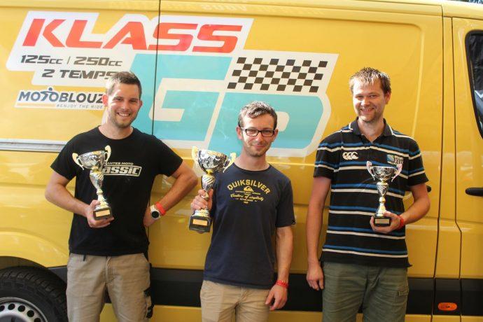 podium de deuxième course au Mans